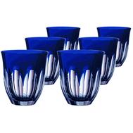 Комплект стаканов Ajka Crystal Loreley, 320мл - 6шт, синие - арт.64592/51354/48332, фото 1