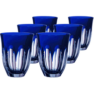 Стопки подарочные Ajka Crystal Loreley, 70мл - 6шт, синие - арт.64595/51354/48332, фото 1