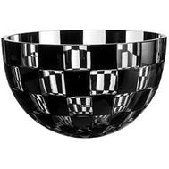 Ваза для фруктов Ajka Crystal Domino - 25см, черная, цветной хрусталь - арт.64614/49876/48349, фото 1