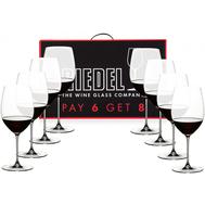 Набор бокалов для красного вина Cabernet Merlot Riedel Veritas, 625мл - 8шт - арт.7449/0, фото 1