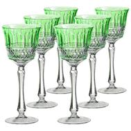 Набор бокалов Ajka Crystal St.Louis, 220мл - 6шт, светло-зеленый - арт.90856/47127/40371, фото 1