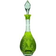 Графин для водки Ajka Crystal Grape, 750мл, светло-зеленый, цветной хрусталь - арт.reseda/64569/51380/48359, фото 1