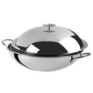 Сковорода вок Cristel Complements, нержавеющая сталь, 6л 34см - арт.WOKT34, фото 1
