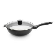 Сковорода вок Cristel Cookway, антипригарная, черная, 28см - арт.CWONEW28, фото 1