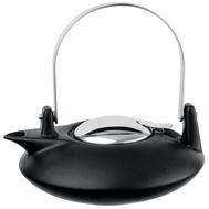 Чайник заварочный Cristel Complements, с ситечком, черный, 0.5л - арт.TH05ZNM, фото 1
