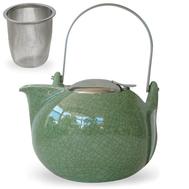 Чайник заварочный Cristel Theieres, с ситечком, зеленый, 1.35л - арт.TH13JVC, фото 1