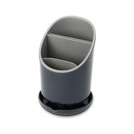 Сушилка для столовых приборов Joseph Joseph Dock™, со сливом, серая, 12см - арт.85075, фото 1