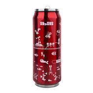 Термокружка Ibili Termos, жестяная банка красная, 500мл - арт.796905, фото 1