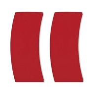Съемные ручки Cristel, силикон, красные - 2 шт - арт.PTMFLR, фото 1