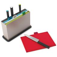 Набор разделочных досок с ножами Joseph Joseph Index™, стальной, 30х20см - 8 шт - арт.60096, фото 1