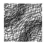 Элементы для модульной перегородки Koziol Silk, чёрные, 27х27см - 4шт - арт.2033526, фото 1
