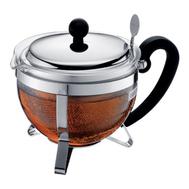 Чайник заварочный Bodum, с ситечком, черный, 1 л - арт.1922-16-6, фото 1