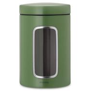 Банка для сыпучих продуктов Brabantia, зеленая, 1.4л - арт.486005, фото 1