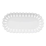 Блюдо овальное Maxwell & Williams Лилия, белое, 30 х 15 см, фарфор - арт.MW580-AY0046, фото 1
