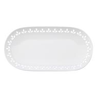 Блюдо овальное Maxwell & Williams Лилия, белое, 39 х 20 см, фарфор - арт.MW580-AY0047, фото 1