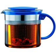 Чайник заварочный Bodum, с ситечком, деним, 1,5 л - арт.A1870-979-Y18, фото 1