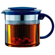 Чайник заварочный Bodum, с ситечком, индиго, 1,5 л - арт.A1870-981-Y18, фото 1