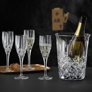 Набор для шампанского Nachtmann Noblesse: 4 фужера и ведёрко - арт.102386, фото 1