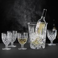 Набор для вина Nachtmann Noblesse: 4 бокала и ведёрко - арт.102388, фото 1