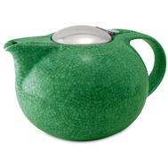 Чайник заварочный Cristel Theieres, фарфор, нержавеющая сталь, зеленый, 0.5л - арт.TH05SVC, фото 1