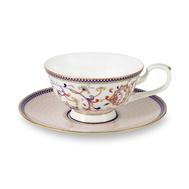 Чайная пара Anna Lafarg Emily Королева Анна, 0,2 л, костяной фарфор - 2 предмета - арт.AL-M1929_CS-E9, фото 1