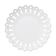 Тарелка закусочная Maxwell & Williams Лилия, белая, 23 см, фарфор - арт.MW580-AY0044, фото 1