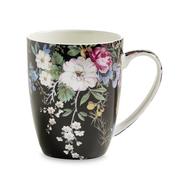 Кружка фарфоровая Maxwell & Williams Полночные цветы, белая с декором, 0,4 л - арт.MW637-WK01400, фото 1