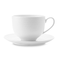 Чайная пара Maxwell & Williams Даймонд, 0,22 л, фарфор - 2 предмета - арт.MW688-DV0028, фото 1