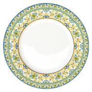 Тарелка обеденная Easy Life R2S Капри, белая с декором, 26,5 см, фарфор - арт.EL-R0942_CAPB, фото 1