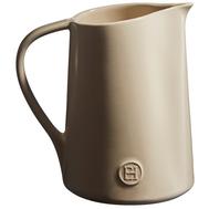 Кувшин керамический Emile Henry, кремовый, 18 см 0,9 л - арт.021520, фото 1