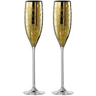 Бокалы для шампанского Eisch Champagner Exklusiv, золото, 180 мл - 2 шт - арт.47750071, фото 1