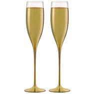 Бокалы для шампанского Eisch Champagner Exklusiv, золото, 180 мл - 2 шт - арт.47750090, фото 1