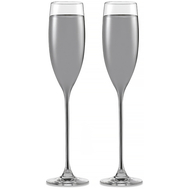 Бокалы для шампанского Eisch Champagner Exklusiv, платина, 180 мл - 2 шт - арт.47750093, фото 1