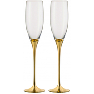 Бокалы для шампанского Eisch Champagner Exklusiv, золото, 180 мл - 2 шт - арт.47750094, фото 1