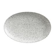 Тарелка овальная Maxwell & Williams Икра, серая, 30 х 22 см, фарфор - арт.MW602-AX0174, фото 1