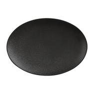 Тарелка овальная Maxwell & Williams Икра, черная, 30 х 22 см, фарфор - арт.MW602-AX0205, фото 1