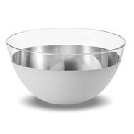 Салатник Eisch Puro, прозрачный/серебро, 14 см - арт.73756714, фото 1