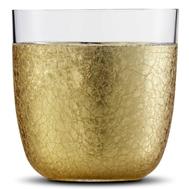 Стакан низкий Eisch Gold Rush, прозрачный/золото, 390 мл - арт.74310415-1, фото 1