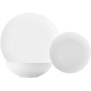 Обеденный набор Maxwell & Williams Даймонд, белый, фарфор - 4 персоны 12 предметов - арт.MW688-DV0031, фото 1