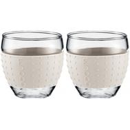 Чашки Bodum Pavina, с силиконовым ободком, белые, 0.35л - 2 шт - арт.11185-913, фото 1
