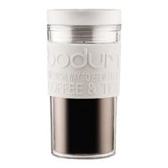 Термостакан Bodum Bistro, дорожный, белый, 0,35 л - арт.11684-913, фото 1