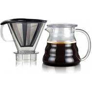 Кофейник пуровер Bodum, с фильтром, 0.6л - арт.11767-10-01S, фото 1
