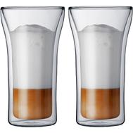 Стаканы с двойными стенками Bodum Assam, прозрачные, 0,4 л - 2 шт - арт.4547-10, фото 1