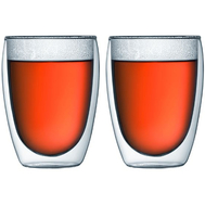 Стаканы с двойными стенками Bodum Pavina, прозрачные, 0,36 л - 2 шт - арт.4559-10, фото 1