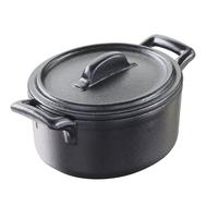 Кокотница овальная Revol Belle Cuisine, черная, 0.25л, 11х10см - арт.644688, фото 1