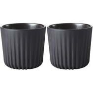 Чашки Revol Pekoe, черные, 80мл - 2шт - арт.653611, фото 1