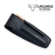 Чехол для складного ножа Laguiole En Aubrac, черный, 12см - арт.ECA, фото 1