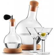 Набор для мартини Bodum Melior: 2 декантера 0,5л и 2л, бокалы для коктейля 2 шт - 4 предмета - арт.K11799-109, фото 1