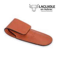 Чехол для складного ножа Laguiole En Aubrac, коричневый, 12см - арт.ECH, фото 1