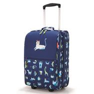 Детский чемодан Reisenthel Trolley XS ABC friends, синий, 30.1х75.3х20см - арт.IL4066, фото 1